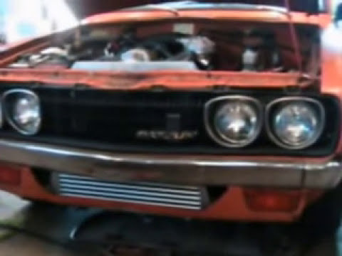 Turbo datsun 620!!!! l18 blow through carb turbo!!!!