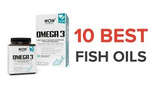 10 Best Fish Oils in India with Pirce