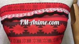 FM-Anime.com Moana Disney 2016 film Moana Cosplay Costume