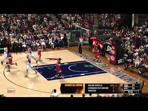 NBA 2K13 Stadium Feel Mod HD ATL vs WAS