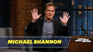 Michael Shannon Dishes on Filming The Shape of Water