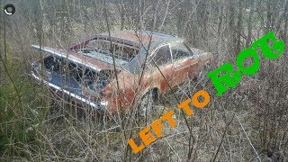 Abandoned 1977 Ford GRANADA 2.3 COUPE Introducion & fire up!