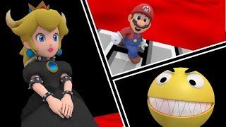 Pacman Mario and Bowsette