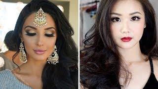 TOP Beautiful Makeup Tutorial -  New Makeup Compilation