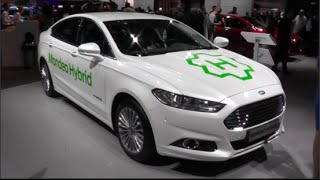 Ford Mondeo Hybrid 2015 In detail review walkaround Interior Exterior