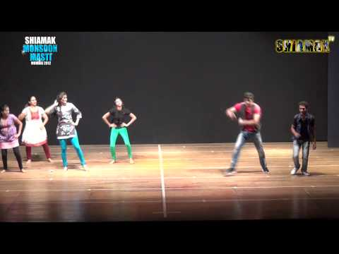 Dhadhang Dhang   SHIAMAK'S Monsoon masti Batch   Mumbai 2012