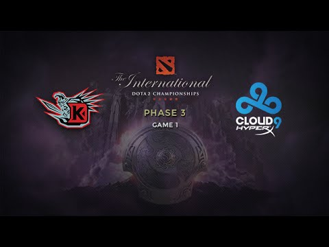 DK -vs- Cloud9, The International 2014, Phase 3, Game 1