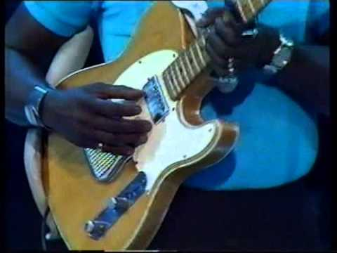 Albert Collins Performs On 'Jazzvisions'.