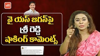 Actress Sri Reddy Shocking Comments on YS Jagan | AP Politics