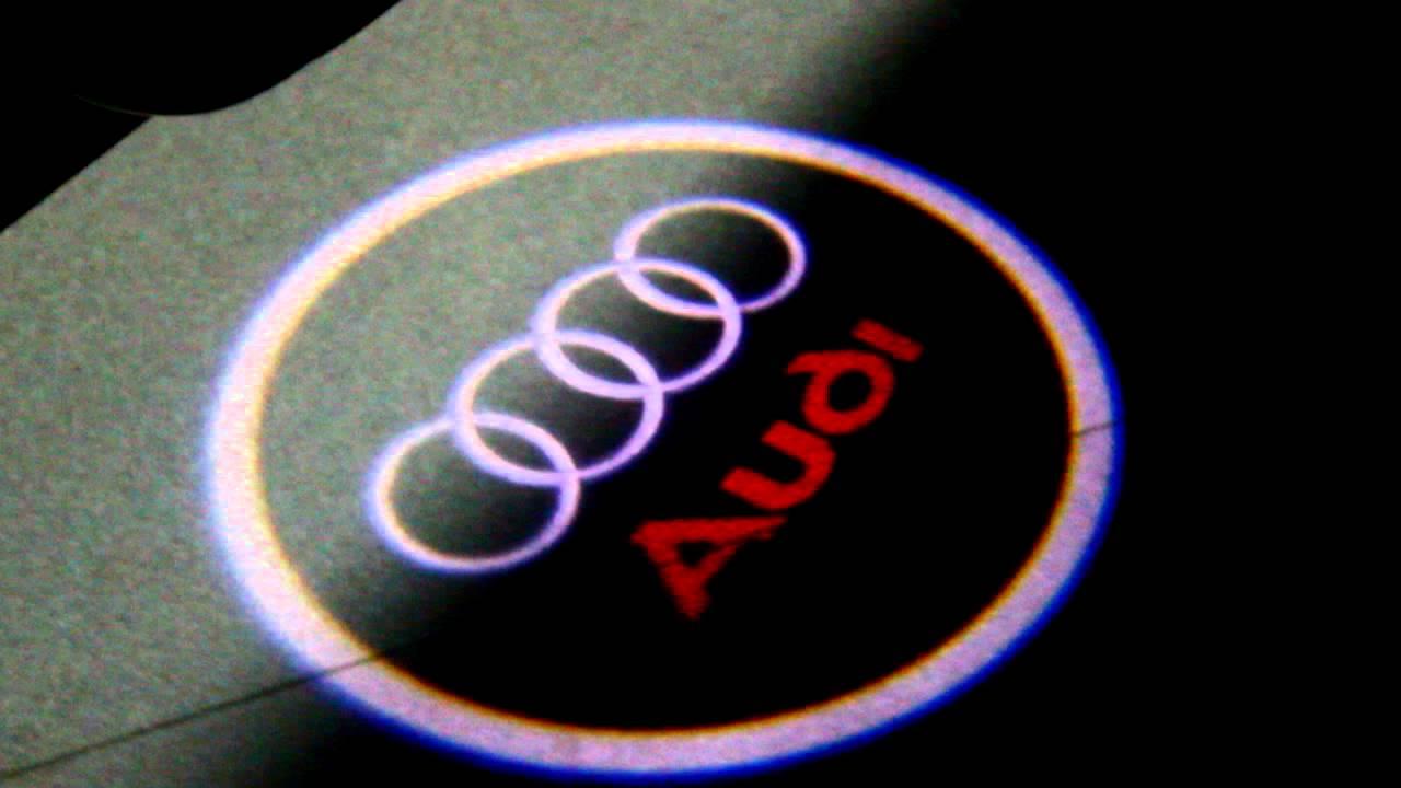 Led Logo Einstiegsbeleuchtung Audi 80 90 100 A3 A6 A4 S4