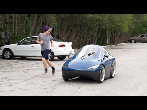 The Rice Solar Car Club builds an urban concept electric car from scratch