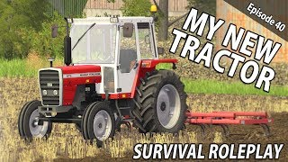 MY NEW TRACTOR | Survival Roleplay | Episode 40