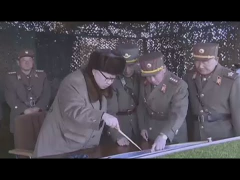 Kim Jong-un provides 'field guidance' at North Korea military drills