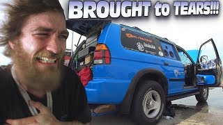 INSANE Sound System MAKES YOU CRY w/ Hot Subwoofer SMOKE!!! Extreme Car Audio BASS Install & Demo