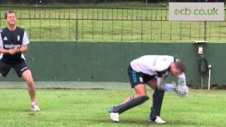 Jos Buttler's Keeping Practice in Sri Lanka