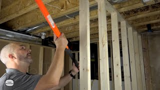 DIY How to Frame a Basement A to Z