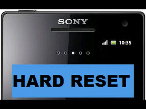 cares nothing sony xperia e10i hard reset code from