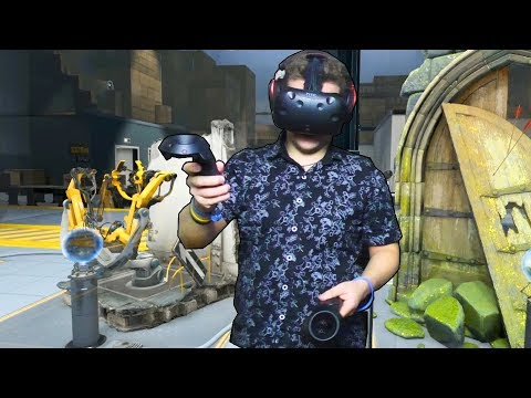 The Lab #2   Разрушил лабораторию   HTC Vive