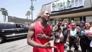 The Game Spits Verse to a Crowd in L.A.