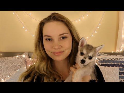 ASMR Arya ♥ Puppy Love and Petting
