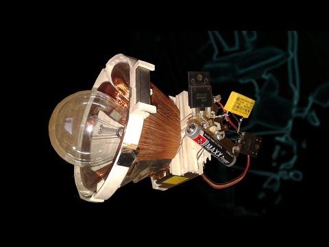 Free Energy Light 220v Bulb New TRICK using TV yock thumbnail