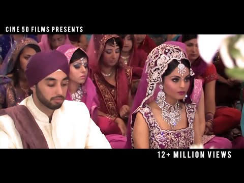 Sikh Wedding (Worlds Most watched Sikh Wedding, Videography by Punjab2000.com /Cine5Dfilms.com)
