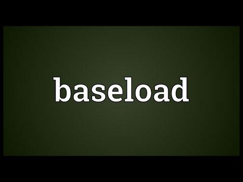 Header of baseload
