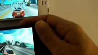 Comparatif Apple iPhone 4S vs Samsung Galaxy S2 : Jeux et Google Maps