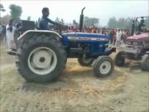 Tractor Stunts Soosan video