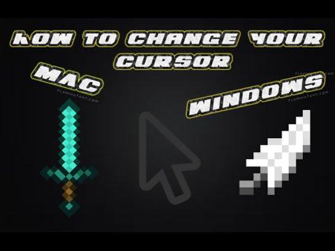 How to get a custom mouse cursor for MAC/Windows!! (tutorial)