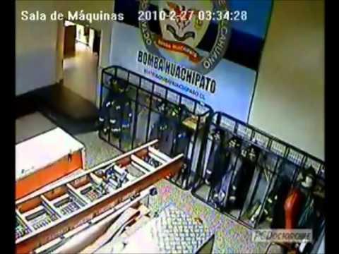 Terremoto en Chile - 27.02.2010 (Compilado - Cámaras de Seguridad)