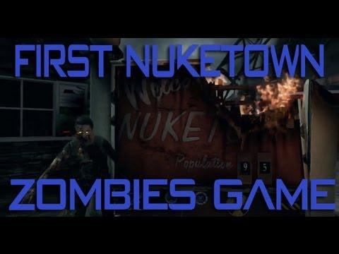 Black Ops 2: First Ever Nuketown Zombies Solo Game JINX [Girl Gaming]