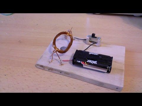 Jak Zrobić Prosty Silnik Elektryczny Zasilany Prądem Stałym (silnik Prądu Stałego)