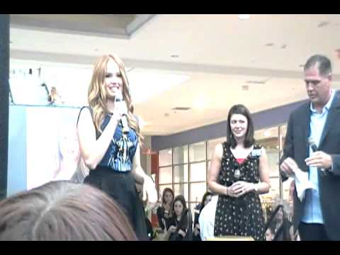 Debby Ryan Q&A at The Northshore Mall