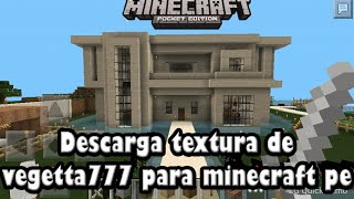Descarga la textura de vegetta777 para minecraft pe 0.13.0 alpha (download)