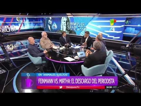 Eduardo Feinmann le respondió a Mirtha Legrand que lo trató de nazi