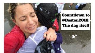 #Boston2018: I ran the Boston Marathon in a mini-monsoon!   The Final Vlog 9