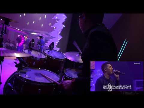 Kupercaya JanjiMu NDC Worship cover Michael Panjaitan JCC Cijantung - David Adrianto (Drum Cam)