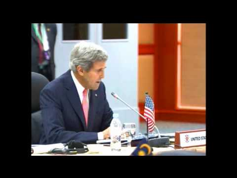 Secretary Kerry Delivers Remarks With Myanmar Foreign Minister Wunna Maung Lwin