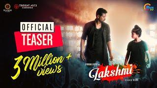 Lakshmi Teaser | Prabhu Deva, Aishwarya Rajesh | Vijay | Sam C S | Official