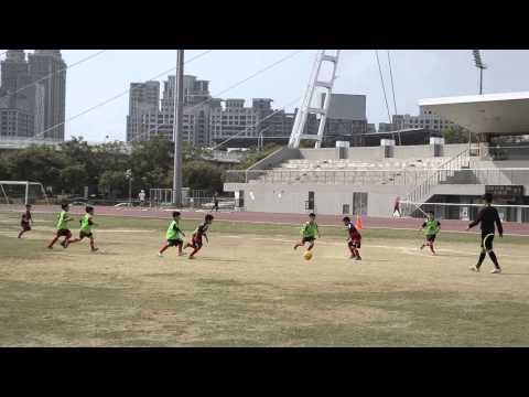 20141026 全國Conti學童盃足球賽低年級組 旋風B vs 台中聖雅各 0:0 & PK 3:1