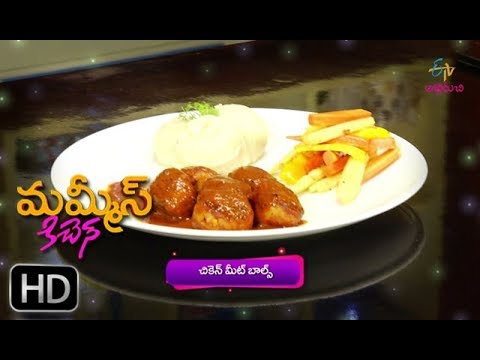 Chicken Meat Balls | Mommy's Kitchen | 16th October 2018 | Full Episode | ETV Abhiruchi