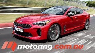2017 Kia Stinger GT Review | Nurburgring