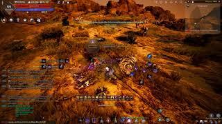 Black Desert SA Dark Knight Farming Desert Nagas for FUN