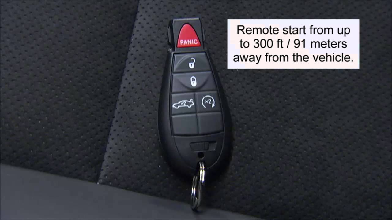 2014 Dodge Challenger Key Fob Youtube