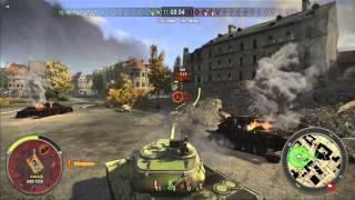World of Tanks xbox 360. IS-6. Ace tanker