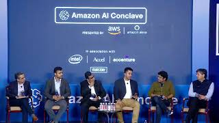 Amazon AI Conclave 2018 - Customer Panel discussion moderated by ET Now