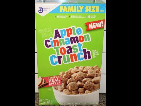 Apple Cinnamon Toast Crunch Cereal Review
