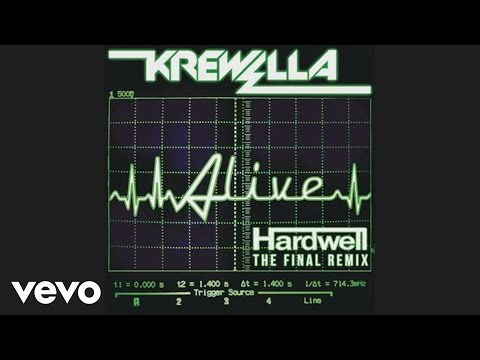 Krewella - Alive (hardwell Remix Official Audio Hd) video