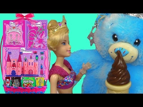 Princess Castle Easter Basket SALE Toy Review Cinderella Build A Bear LPS